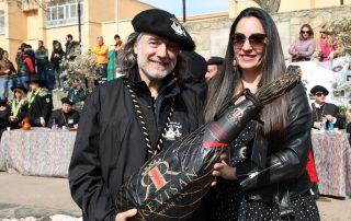"""Soraya Revilla y Joaquin Galvez """"Wineman"""""""